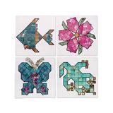 S&S Worldwide Craft Kits - Mineral Mosaic Craft Kit