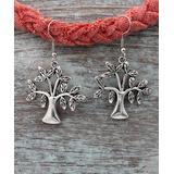 BeSheek Women's Earrings - Silvertone Joshua Tree Dangle Earrings