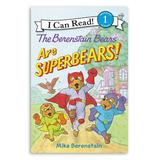 The Berenstain Bears Leveled Readers - The Berenstain Bears Are SuperBears Paperback Book