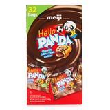 Meiji Cookies 32 - Hello Panda Chocolate Creme 32-Ct. Cookie Bag Set