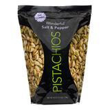 Wonderful Nuts 40 - 40-Oz. Salt & Pepper In-Shell Pistachios