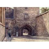 Posterazzi London 1908 Gateway of Bloody Tower Poster Print by John Fulleylove, (24 x 36)