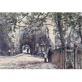 Posterazzi Tower of London 1908 Gateway Poster Print by John Fulleylove, (18 x 24)