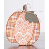 Foundations Decor Craft Kits - 'O' Pumpkin Block Sign