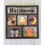 Foundations Decor Craft Kits N/A - 'Halloween' Shadow Box Kit