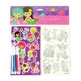 Baseline Global Art Stickers - Mermaids Color-In Sticker Set - Set of 12