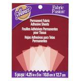 Aleenes Fabric Fusion Fabric Adhesives - Permanent Fabric Adhesive Sheets