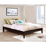 "Coaster Home Furnishings Platform Bed, 63.75""W x 85""D x 14.25""H, Cappuccino"