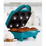 Holstein Housewares Specialty Electrics TEAL - Blue Six-Cupcake Maker