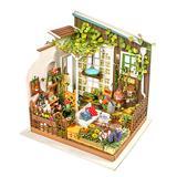 Hands Craft Puzzles - Miller's Garden 3-D Wooden Puzzle Miniature House
