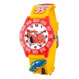 eWatchFactory Boys' Watches Yellow - Yellow Disney Cars Time Teacher Watch