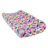 Trend Lab Waverly Baby Lab Santa Maria Plush Changing Pad Cover in Blue/Pink/Yellow, Size 32.0 H x 16.0 W x 6.0 D in | Wayfair 71244