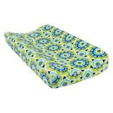 Trend Lab Waverly Baby Solar Flair Plush Changing Pad Cover in Blue/Green, Size 32.0 H x 16.0 W x 6.0 D in | Wayfair 71245