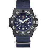 Luminox Navy Seal 3580 Series 45mm Chronograph Blue Dial Men's Watch XS.3583.ND