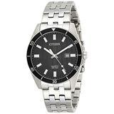 Citizen Men's Quartz BI5050-54E Silver Stainless-Steel Japanese Fashion Watch