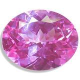 OptimaGem Lab Sapphire Pink Oval 5x3mm-16x12mm Loose Gemstones (10x8mm)