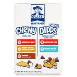 Quaker Oats Bars 58 - 58-Ct. Chewy & Chewy Dipps Variety Pack