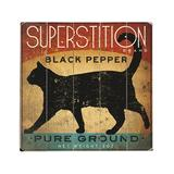 ArteHouse Decorative Plaques Multi - 'Superstition Brand Black Pepper Planked Wood Wall Decor
