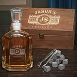 Darby Home Co Lenum Custom 23 oz. Whiskey Decanter Glass, Size 5.0 H x 3.0 W in | Wayfair 4F6FA5420F1344CB8E4CDB03FF6F891F