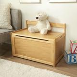 "Melissa & Doug Toy Storage Bench, Wood in White, Size 34""H X 20""W X 5""D | Wayfair 3022"
