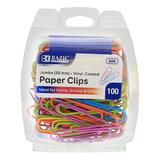 Bazic Products Art Paper - 100-Ct. Jumbo Paper Clip Pack