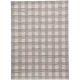 """Momeni Rugs Geo Collection Contemporary Area Rug, 7'6"""" X 9'6"""", Grey"""