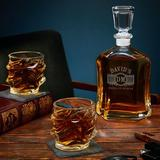 Darby Home Co Lenum Personalized 3 Piece Whiskey Decanter Set Glass, Size 10.75 H x 5.0 W in | Wayfair E3D54629F81C4D6FB42C5CCA0B1CE526
