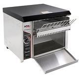 """APW AT EXPRESS Conveyor Toaster - 300 Slices/hr w/ 1 1/2"""" Product Opening, 120v"""