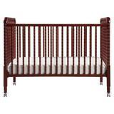 DaVinci Jenny Lind 3-in-1 Convertible Portable Crib Wood in Brown/Yellow, Size 41.4 H x 30.4 W in | Wayfair M7391C