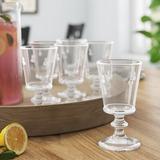 La Rochere 9 oz. Glass Goblet Glass, Size 5.5 H x 3.3 W in | Wayfair 6110.01____10