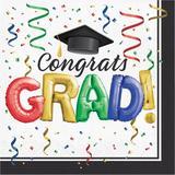 "The Party Aisle™ Grad Bulk 6.5"" Paper Disposable Napkins Paper in Blue/Green/Red   Wayfair C033751DA50443F19862BC3A76039ED8"