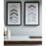 Main Street Canvases Blue/Grey - This and That Way Framed Gel-Coat Canvas Set