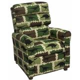 Zoomie Kids Cooney Kids Chair Upholstered in Brown/Green, Size 29.0 H x 23.0 W x 25.0 D in | Wayfair F2209C69B22F4587A54EB9C1F0FCF35A