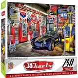 MasterPieces Wheels 750 Puzzles Collection - Jewel of the Garage 750 Piece Jigsaw Puzzle