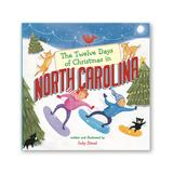Sterling Board Books - Twelve Days of Christmas in North Carolina Board Book