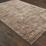 Tommy Bahama Home Lucent Handmade Tufted Wool/Tan Area Rug Wool in Brown, Size 108.0 H x 72.0 W x 0.47 D in   Wayfair LCT459076X9