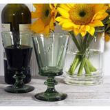 La Rochere 9 oz. Glass Goblet Glass in Green, Size 5.5 H x 3.3 W in | Wayfair 6110.14___472