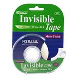 Bazic Products Tape Dispensers - Invisible Tape - Set of 6