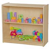 Wood Designs Contender Adjustable Shelf Standard Bookcase Wood in Brown, Size 27.25 H x 30.0 W x 12.0 D in | Wayfair C12930AJ