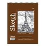 Bazic Products Art Paper - Premium Sketch Pad - Set of Six