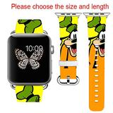 Apple Watch Band 42MM + Stainless Steel Connector Apple Watch Band 38MM iWatch Band for Apple Watch 42mm iWatch Band for Apple Watch 38mm Series 1 Series 2 Series 3 Series 4 (42-44mm M/L)