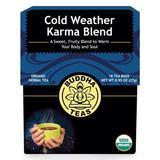 Organic Cold Weather Karma Blend, 18 Tea Bags x 6 Box, Buddha Teas