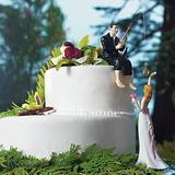Weddingstar Reaching Bride Cake Topper Porcelain in White, Size 3.0 H x 3.0 W x 7.125 D in | Wayfair 7096