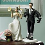 Weddingstar Biggest Fan Groom Porcelain in Black, Size 4.12 H x 6.87 W x 3.37 D in | Wayfair 8511