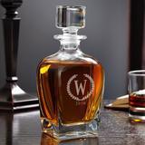 Charlton Home® Shehan Statesman Personalized 24 oz. Whiskey Decanter Crystal, Size 9.0 H x 4.0 W in | Wayfair 28FBF04AFE3F47E09EC5110614DE7FF6