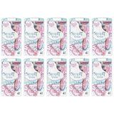 Simply Venus 3 Blade Disposable Razors, with Moisture Rich Strip, 4 Count (10 Pack)