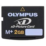 Olypmus 2GB XD Picture Card M+ Flash Memory Card in Non Retail Package Plus Agfa Card Reader