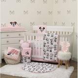 Disney Minnie Mouse Nursery 6 Piece Crib Bedding Set Polyester/Cotton Blend in Pink, Size 36.0 W in | Wayfair 4692612
