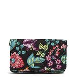 Vera Bradley Women's Signature Cotton All Together Crossbody Purse with RFID Protection, Vines Floral