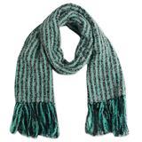 Alpaca blend scarf, 'Bay Stripes'